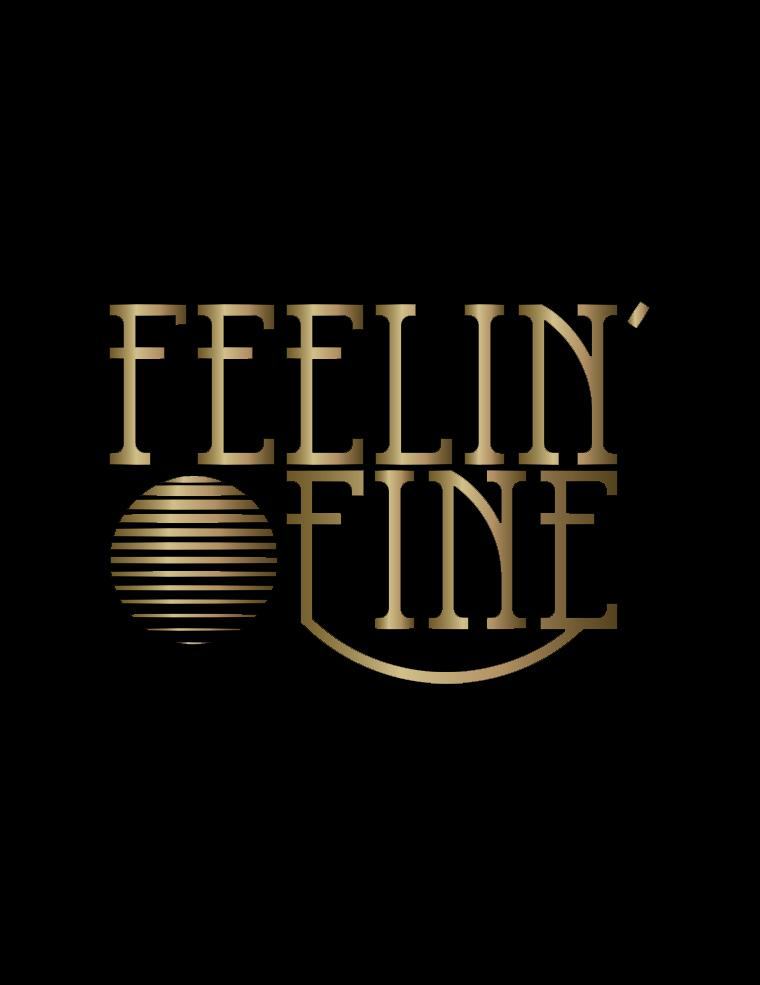 Mood Graphic Tank: Feelin' Fine