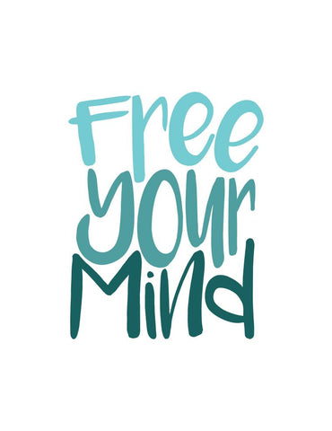 Mood Graphic Tank: Free Your Mind