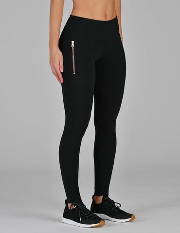 Hybrid Legging: Black