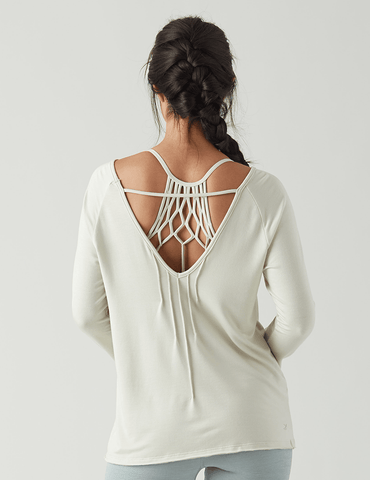 Harmony Long Sleeve: Creme