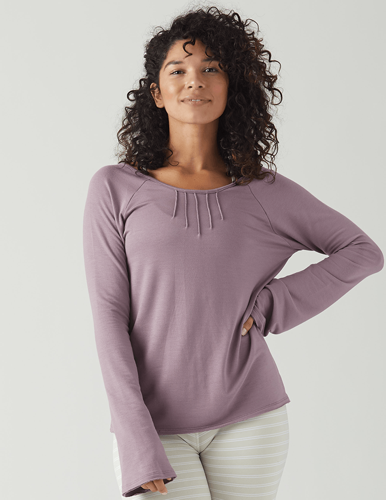 Harmony Long Sleeve: Mauve