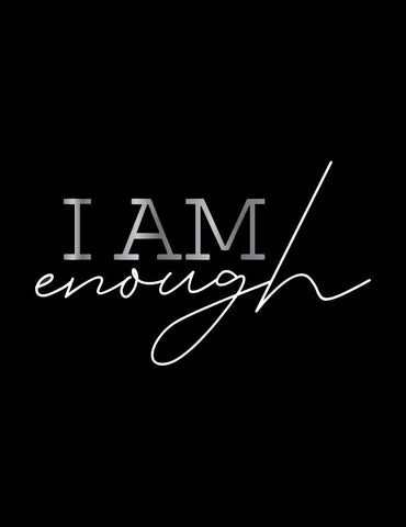 Mood Graphic Tank: I Am Enough