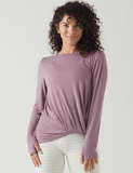 Knot To Love Top: Wistful Mauve