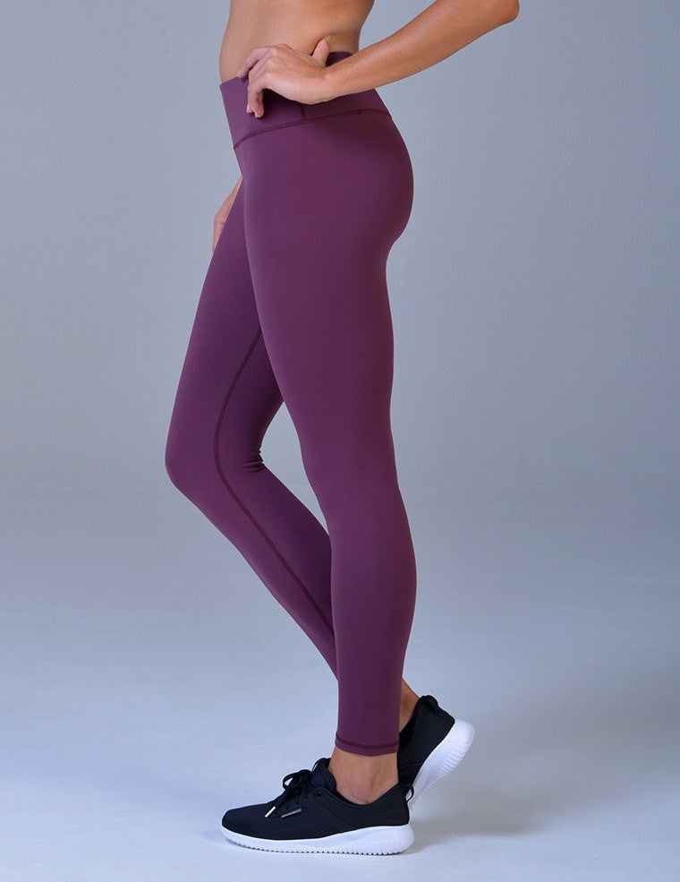 Elongate Legging: Bordeaux
