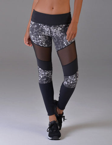 Evolution Legging: Tri Geo Print