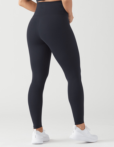 High Waist Pure Legging: Black