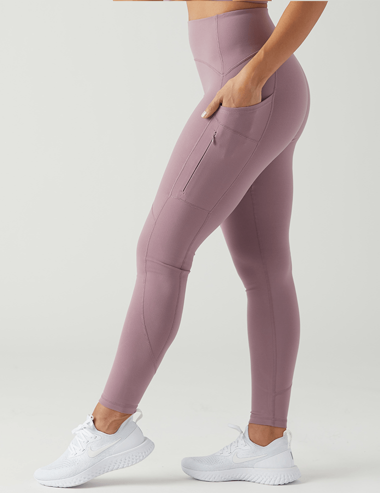 Thrive Legging: Mauve