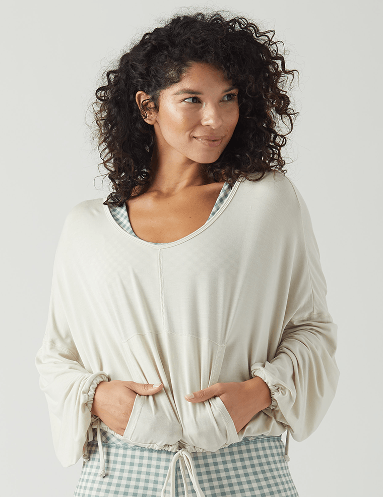 Zephyr Top: Creme