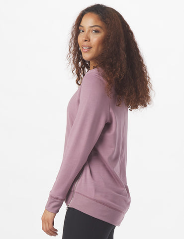 Adore Long Sleeve: Mauve