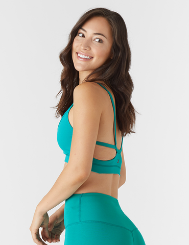 Beam Sports Bralette: Jade