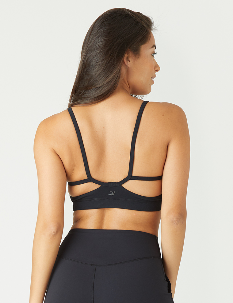 Beam Sports Bralette: Black