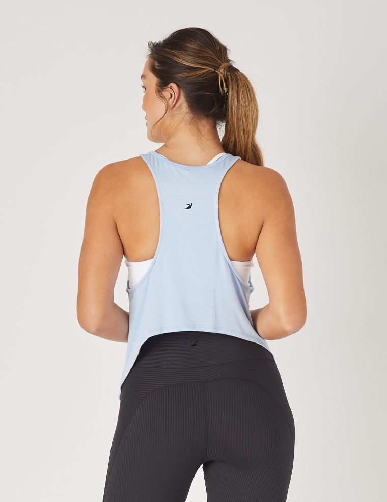 Bend Tank: Ice Blue