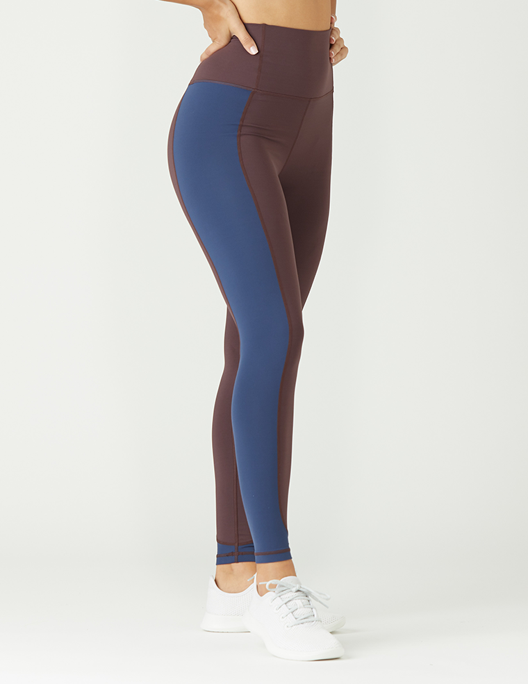 Block It Out Legging: Deep Plum