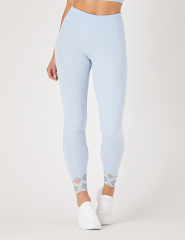 Cascade Legging: Ice Blue