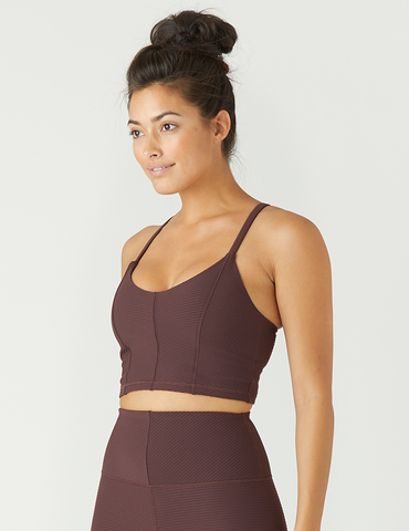 Charge Bra: Deep Plum