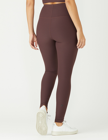 Charge Legging: Deep Plum