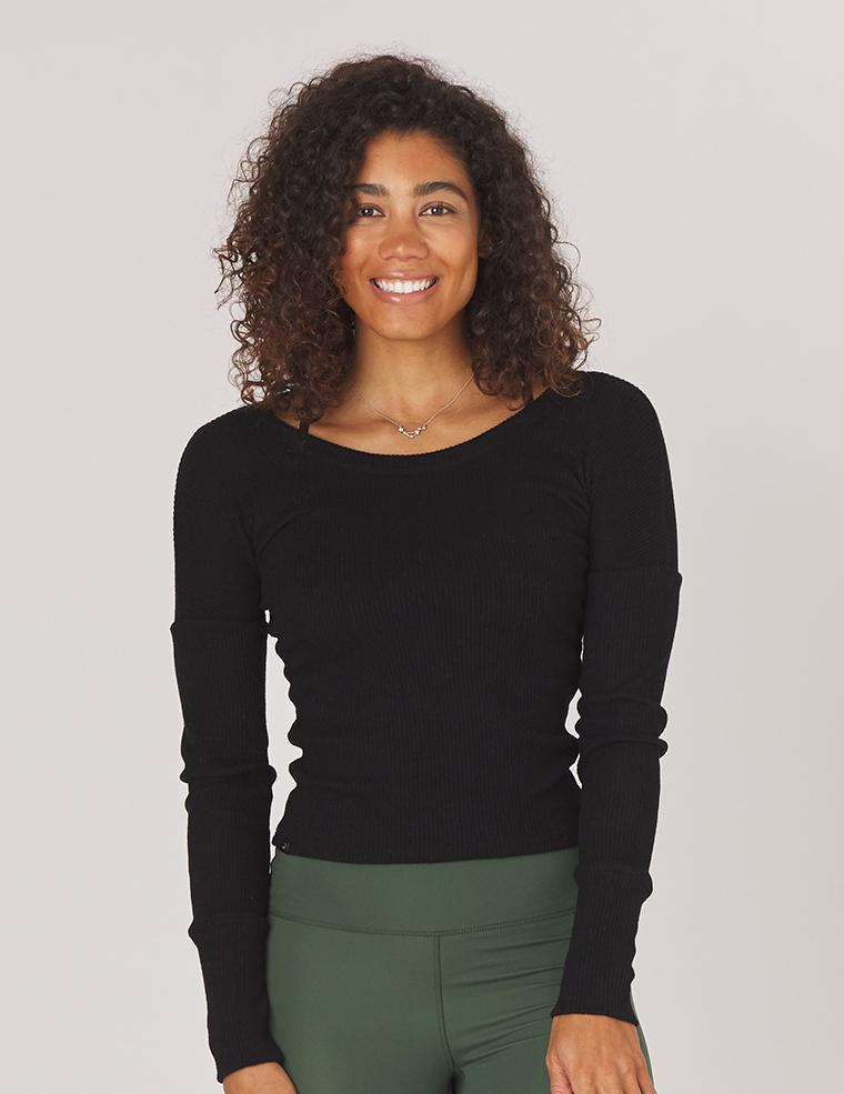 Comfort Long Sleeve: Black
