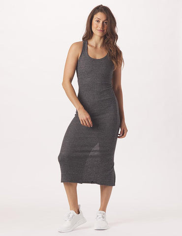 Comfort Dress: Charcoal Heather