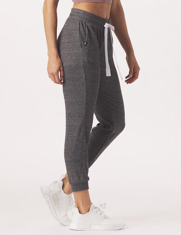 Comfort 7/8 Jogger: Charcoal Heather