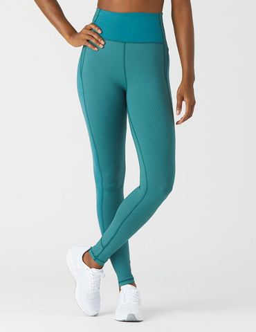 Curve Legging: Evergreen