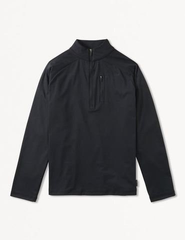 Avalon 1/4 Zip: Black