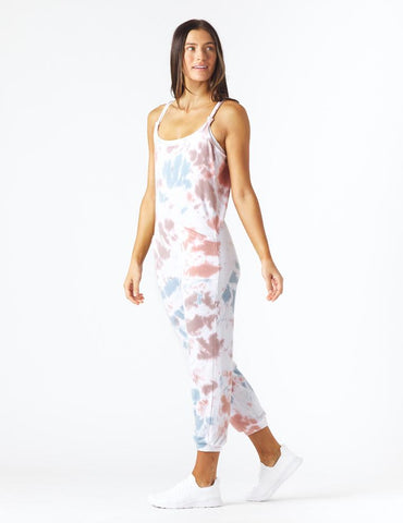Effortless Jumpsuit: Candy Tie-Dye