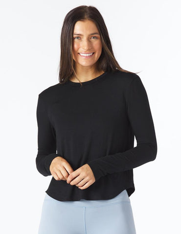 Electric Long Sleeve: Black