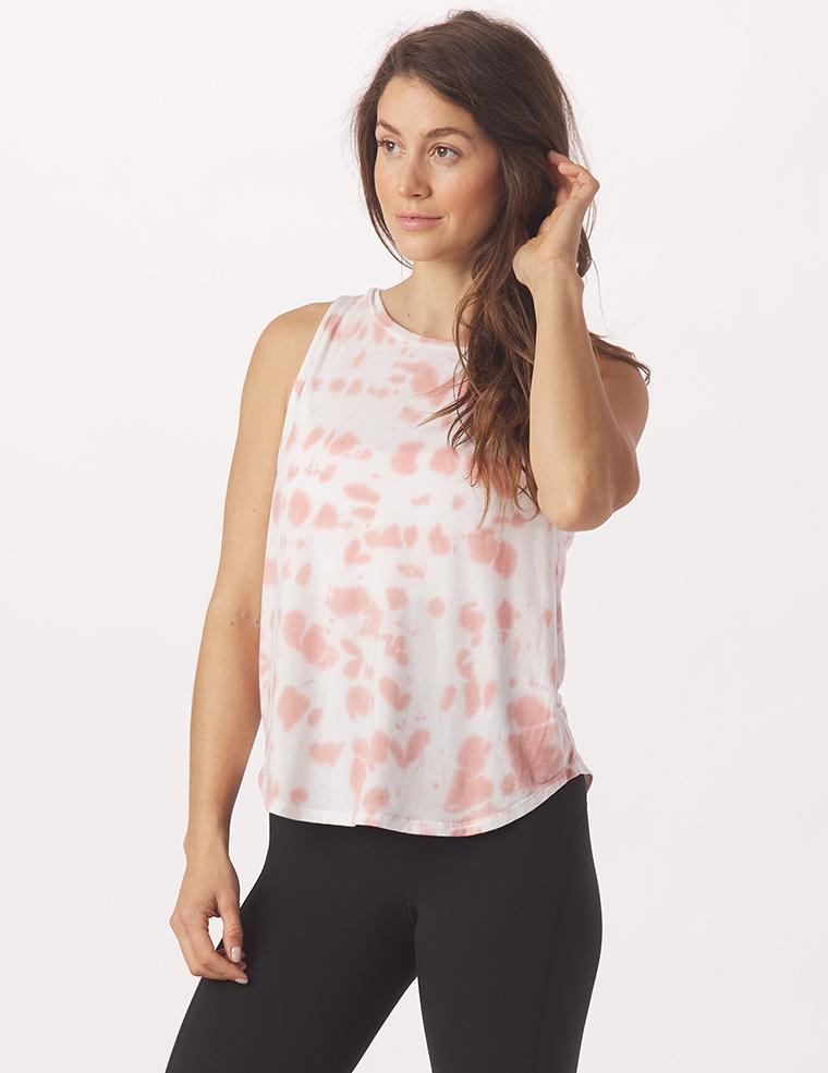 Electric Tank: Clay Tie-Dye