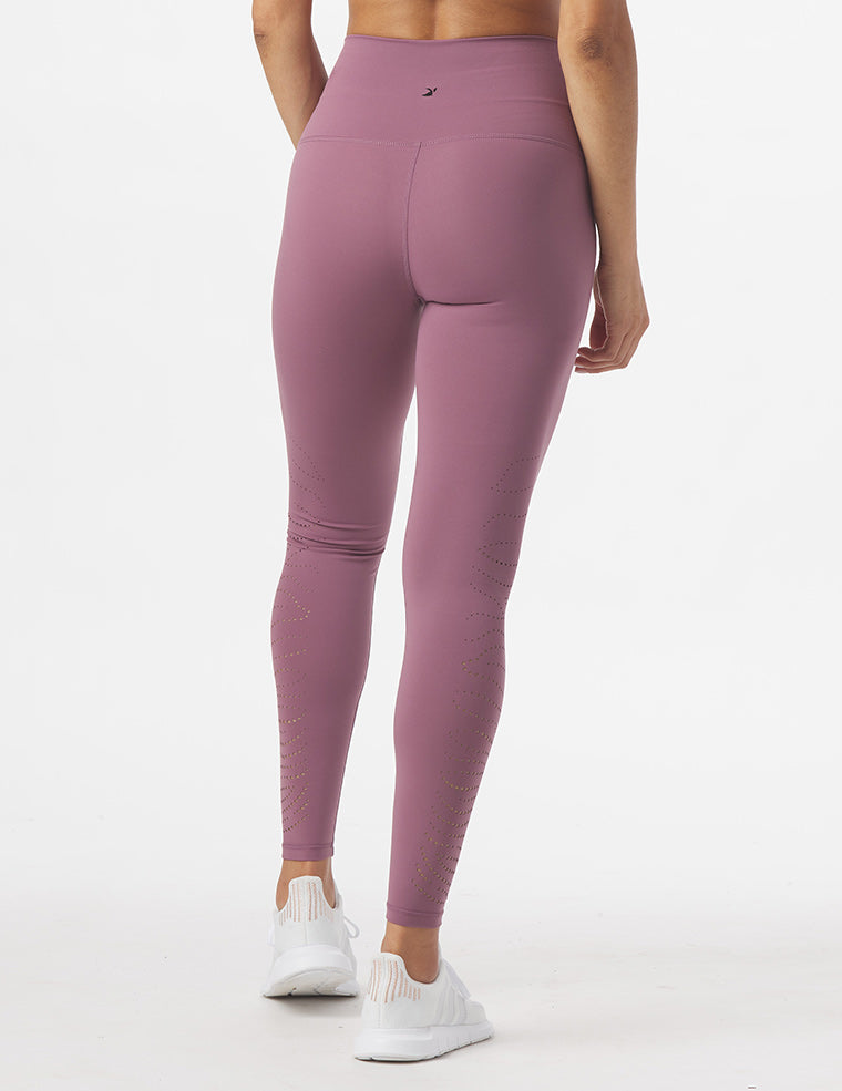 Fierce Legging: Mauve