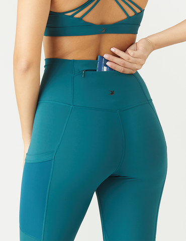 Flash Legging: Dark Teal