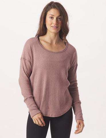 Freestyle Long Sleeve: Lavender Bark