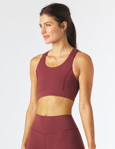 Full Force Bra: Merlot