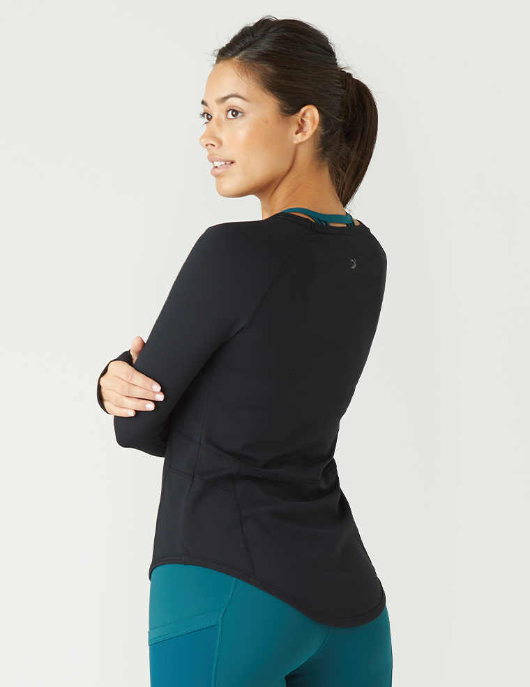 Glow Long Sleeve: Black