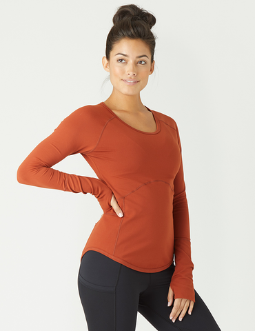 Glow Long Sleeve: Burnt Amber