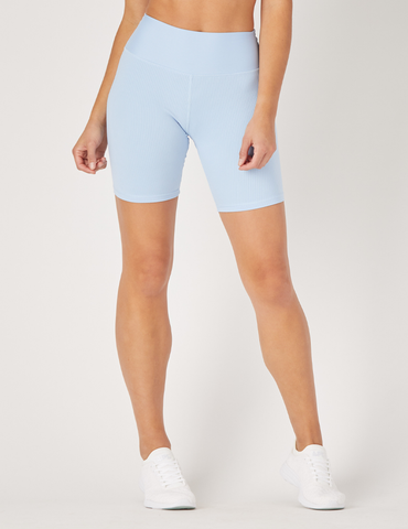 High Power Bike Short: Ice Blue