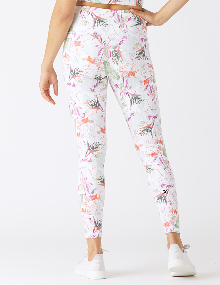 High Power Legging Print: Botanical Tropics