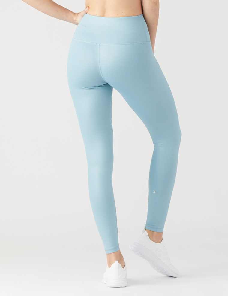 High Power Legging: Mist Gloss
