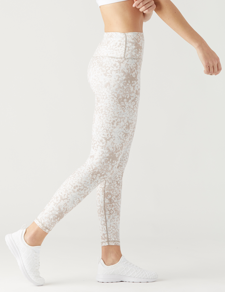 GLYDER HIGH POWER LEGGINGS in SEAFLOOR PRINT
