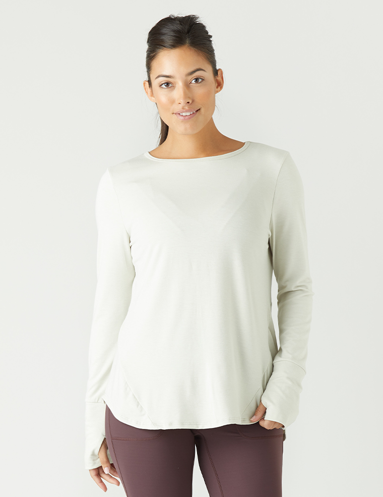 Humble Long Sleeve: Creme