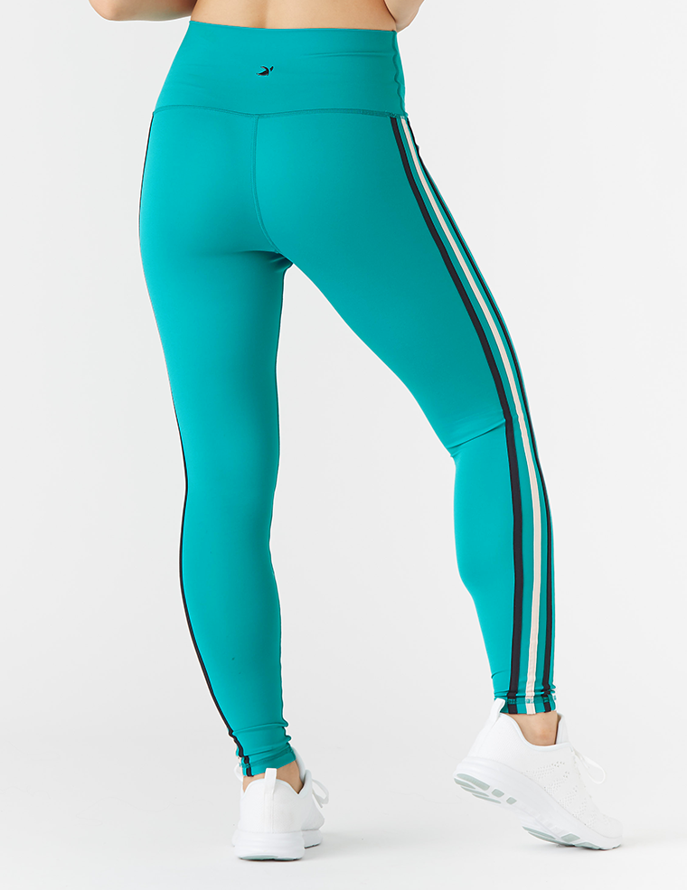 Incline Legging: Jade