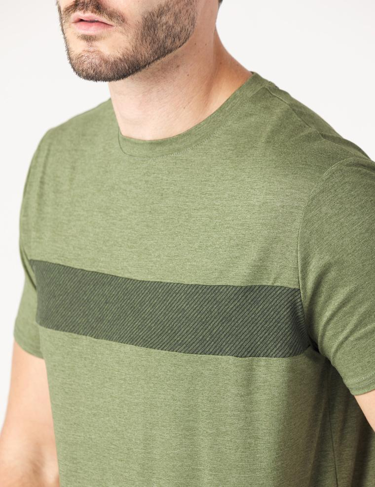 Ionian Short Sleeve: Rifle Green Melange