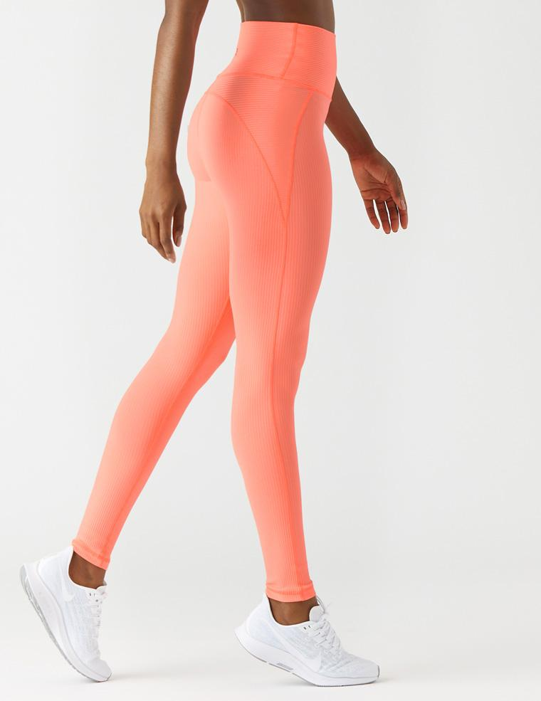 Jubilant Legging: Hot Coral