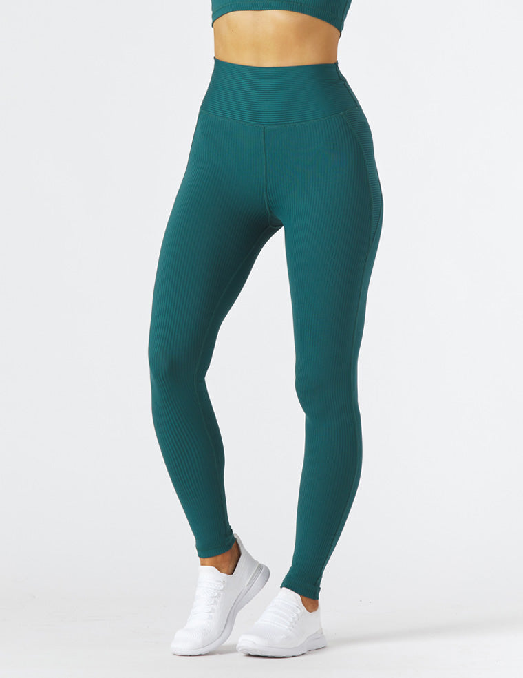 Jubilant Legging: Dark Teal
