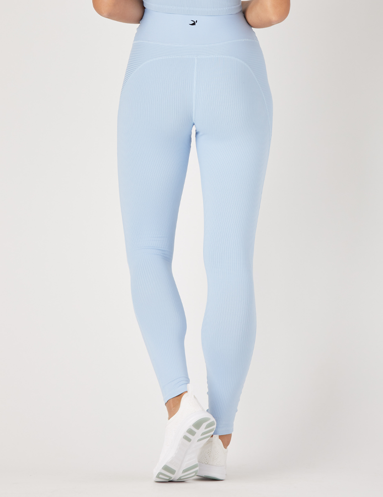 Jubilant Legging: Ice Blue