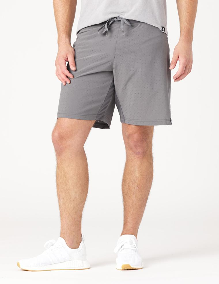 Kodiak Cooling Short: Smoke Grey