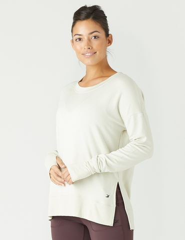 Lounge Long Sleeve: Creme