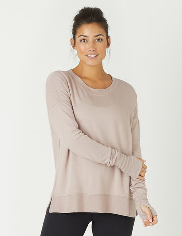 Lounge Long Sleeve: Adobe Rose