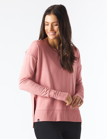 Lounge Long Sleeve: Clay