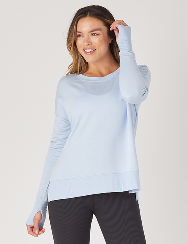 Lounge Long Sleeve: Ice Blue