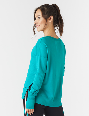 Lounge Long Sleeve: Jade